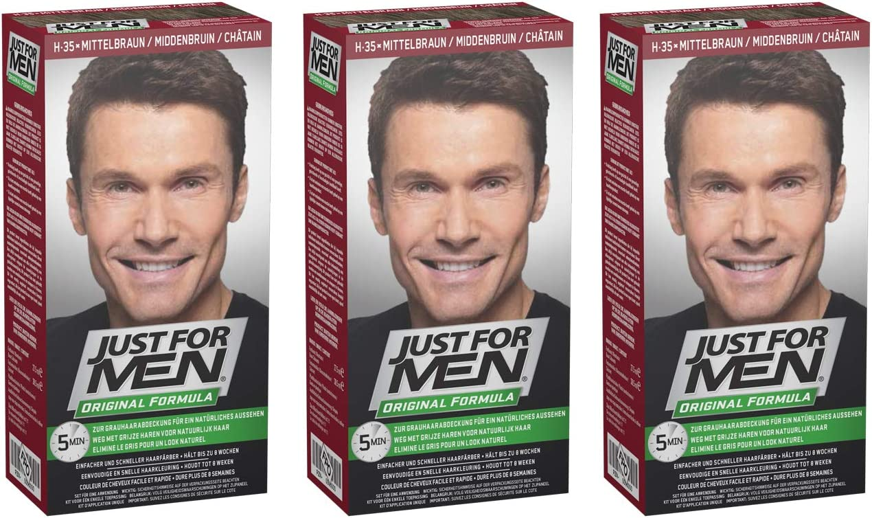 Tinte para el cabello Just for Men (champú, tinte, acondicionador)