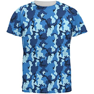 7c0424bc Old Glory Navy Blue Camo All Over Mens T Shirt | Amazon.com