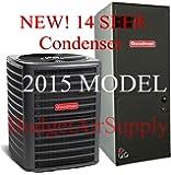 Goodman 2 Ton 14 Seer Heat Pump Split System GSZ14024 ARUF25B14