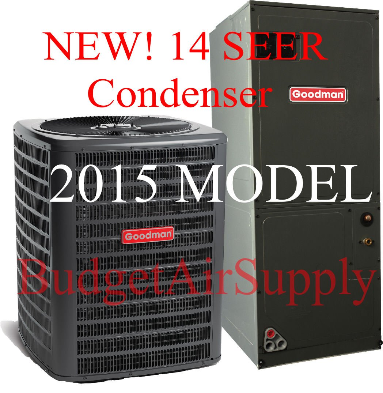 goodman 1 5 ton split system. amazon.com: goodman 3 ton 14 seer heat pump split system gsz140361 aruf37d14: home \u0026 kitchen 1 5 p
