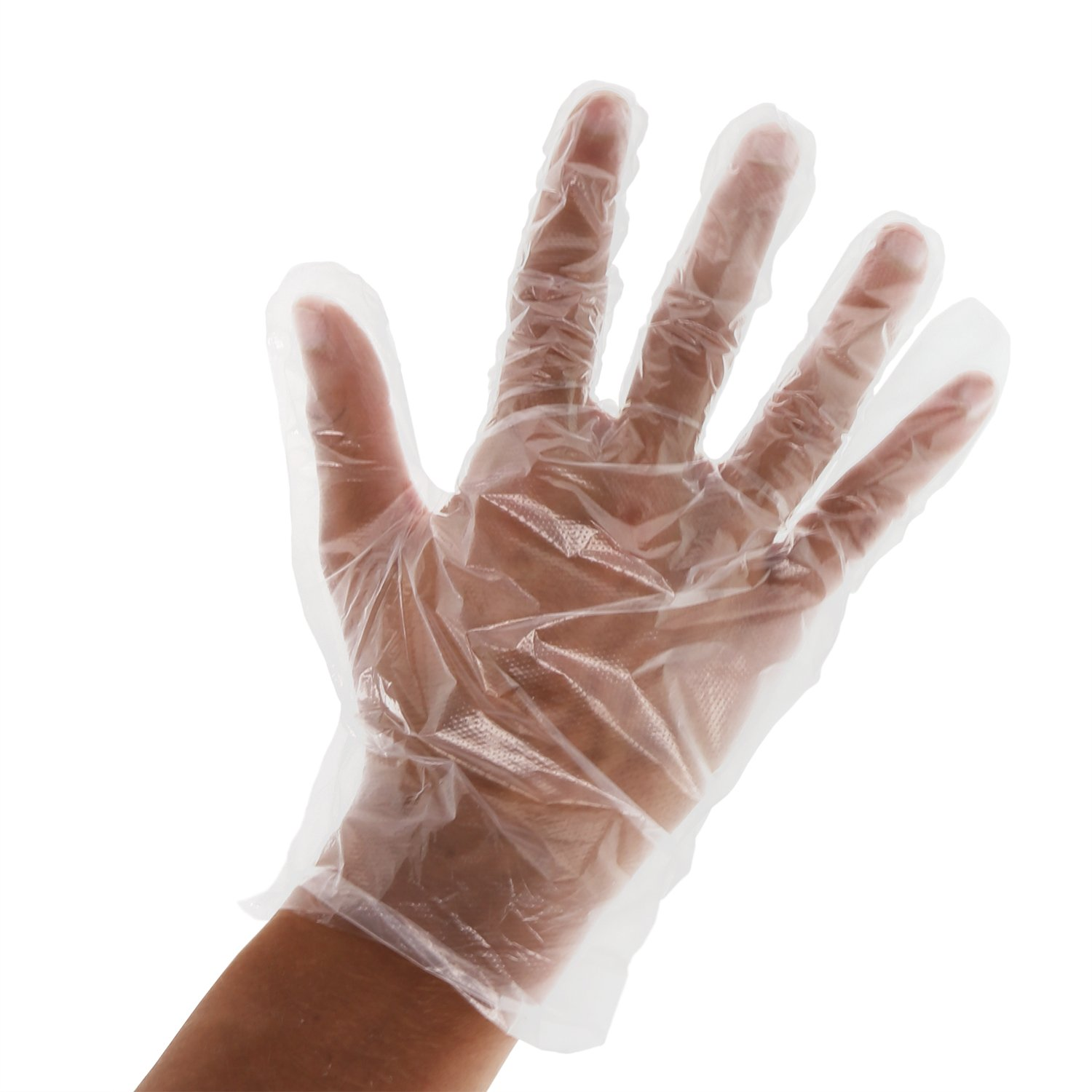 Royal Premium Disposable Poly Gloves, Extra Large, Case of 2,000