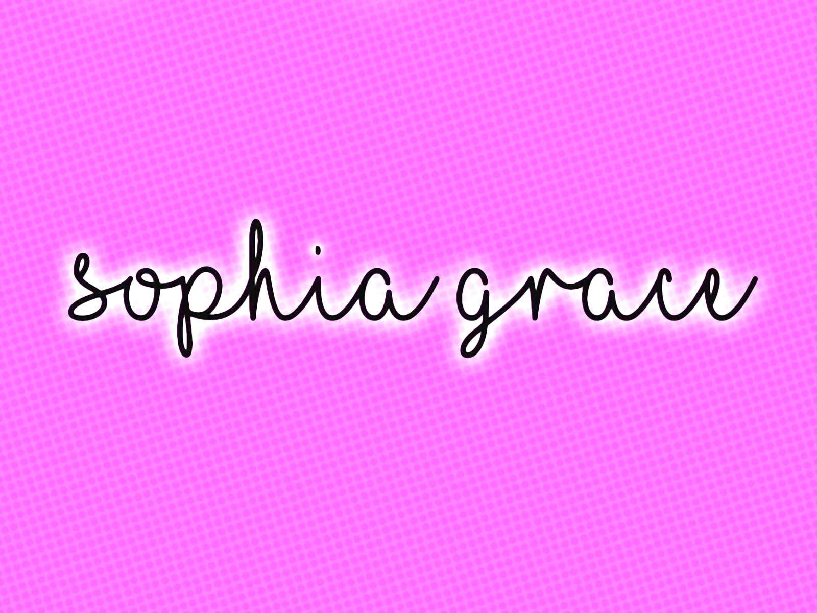 Sophia Grace on Amazon Prime Video UK