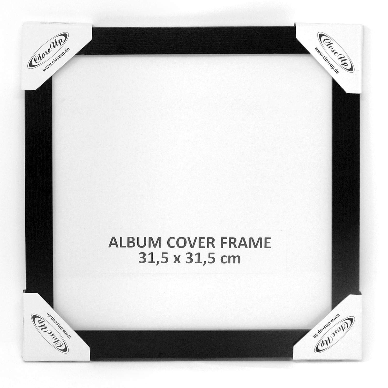 Amazon.de: Close Up LP Album Cover Schallplatten Rahmen - 31, 5 x 31 ...
