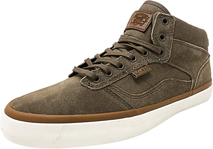 2114ee3189d030 Amazon.com  Vans Bedford Canvas and Suede Ankle-High Fabric Fashion Sneaker   Vans  Shoes