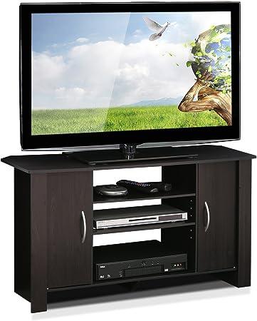 Furinno Centro De Entretenimiento Y Soporte De TV Econ, Espresso: Amazon.es: Hogar