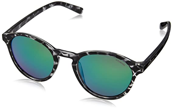 56328b3324b2 Polaroid PLD6013 S HJNK7 Black Havana PLD6013 S Round Sunglasses Polarised  Lens