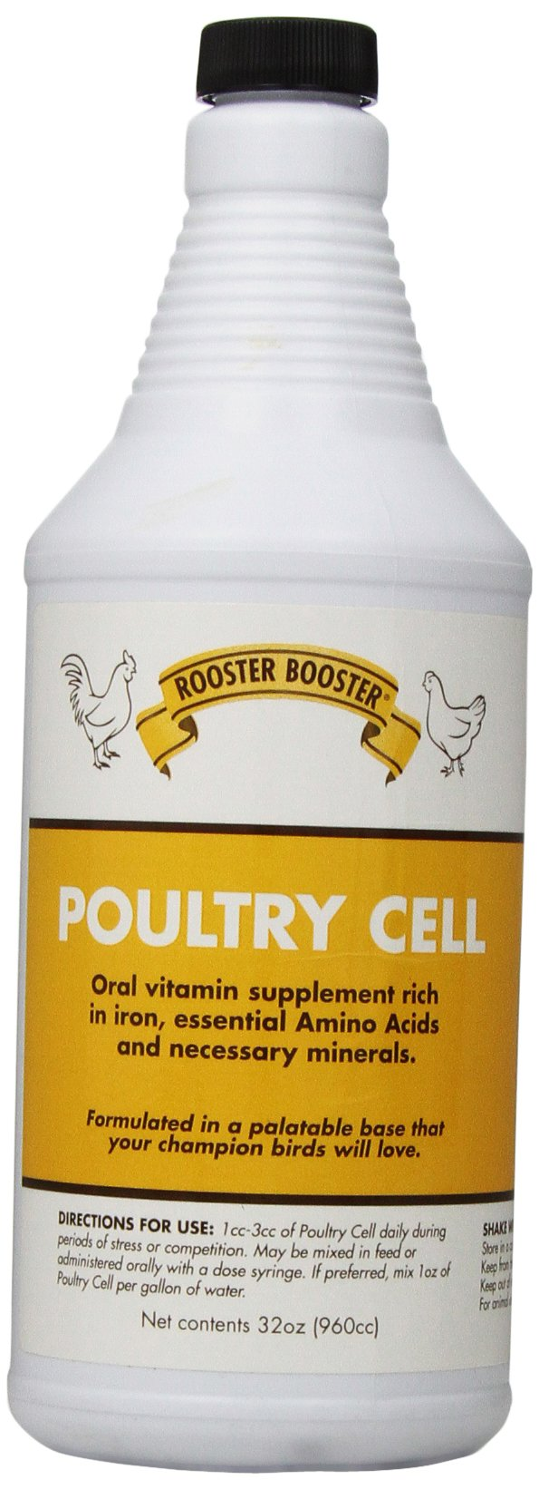 Rooster Booster Poultry Cell, 32-Ounce by Rooster Booster