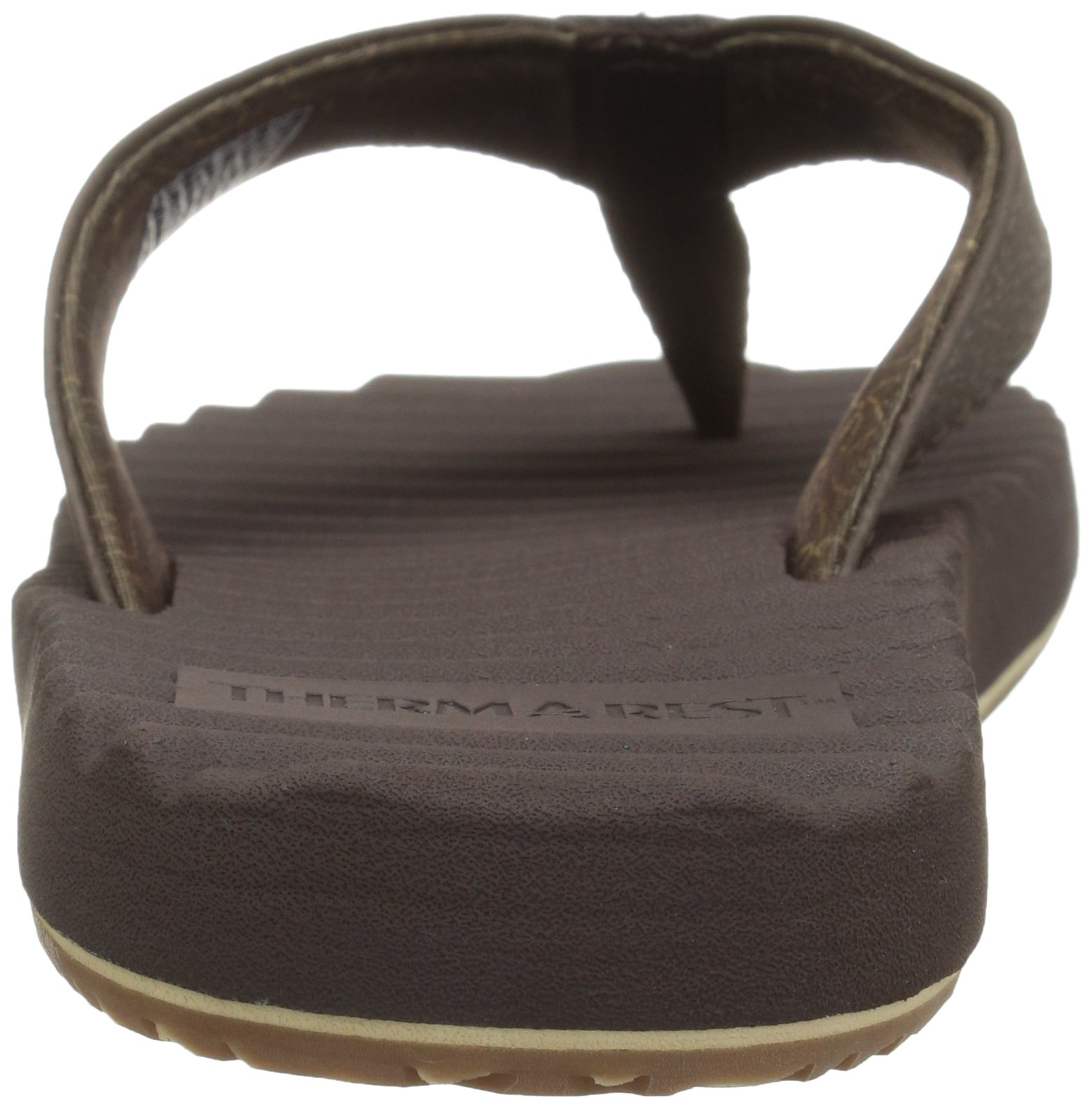 Freewaters Men's Basecamp Therm-a-Rest Flip Flop Sandal, Brown, 10 M US by Freewaters (Image #2)