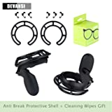 1 Pair Anti Break Shell Protective Frame for Oculus Quest & Oculus Rift Controllers Collision Protection