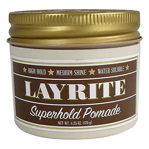 Layrite Super Hold Pomade Review