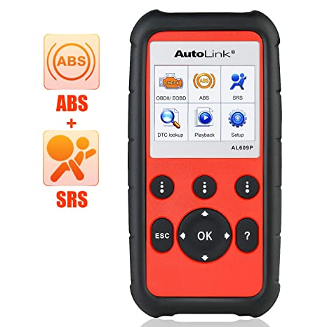 Vin Number Scanner >> Amazon Com Autel Autolink Al609p Pro Obd2 Scanner With Abs