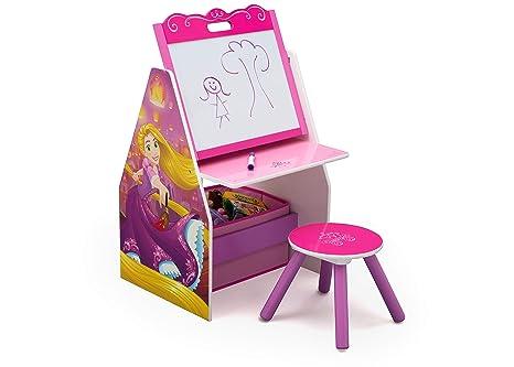 Delta children centro per attività e sgabello disney princess