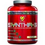 BSN SYNTHA-6 Protein Powder, Whey Protein, Micellar Casein, Milk Protein Isolate, Flavor: Cookies and Cream, 48 Servings