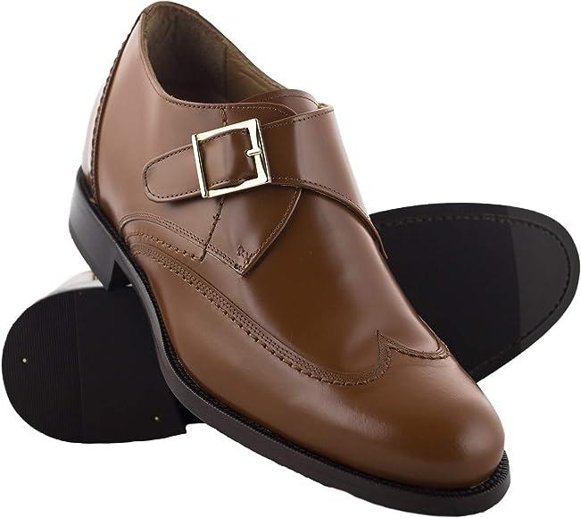Zerimar Zapatos con Alzas Hombre| Zapatos de Hombre con Alzas Que Aumentan su Altura + 7 cm| Zapatos con Alzas para Hombres | Zapatos Hombre Vestir: Amazon.es: Zapatos y complementos
