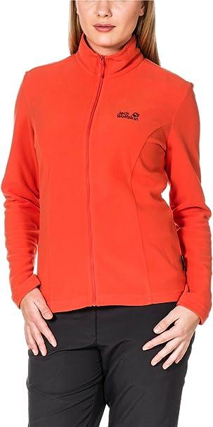 Women Jack Wolfskin Gecko Jkt W Womens Fleece Jacket Womens