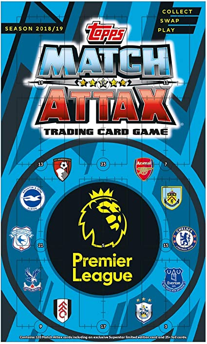Match Attax 2019//20 19//20 Mini Tin//mega tin//Pack Starter Pack//Multi//calendario