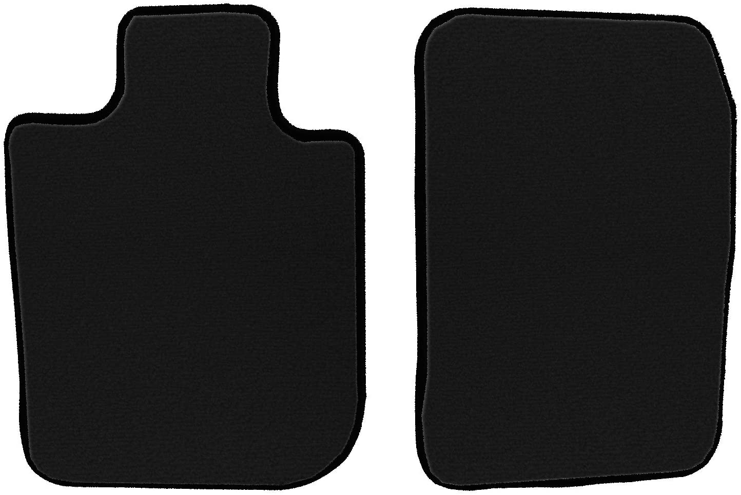 GGBAILEY D50626-F1A-BK-LP Custom Fit Car Mats for 2014 2015 2017 Subaru Forester Black Loop Driver /& Passenger Floor 2016