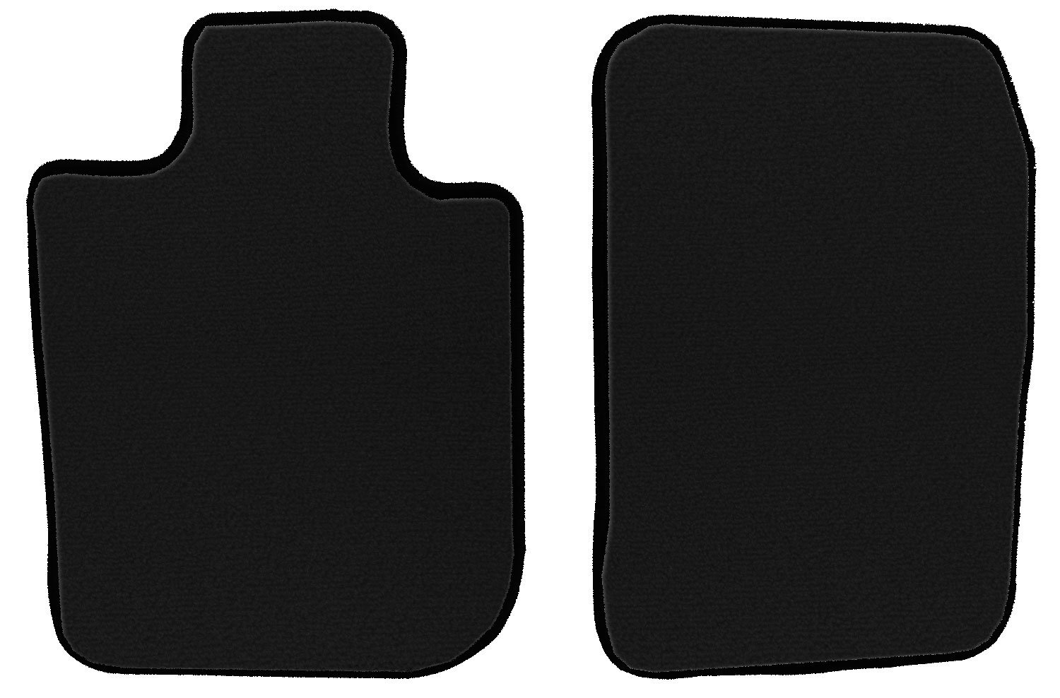 GGBAILEY D2345A-F1A-BK-LP Custom Fit Car Mats for 2006 2007 2008 Dodge Ram Mega Cab Black Loop Driver /& Passenger Floor