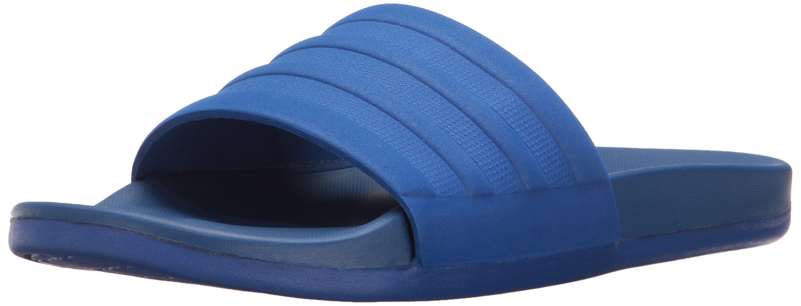 adidas Men's Adilette CF+ Mono Slide Sandals, Collegiate Royal/Collegiate Royal/Collegiate Royal, (8 M US) by adidas