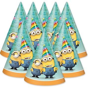 Minions 8 Partyhute Partyhutchen Ich Einfach Unverbesserlich