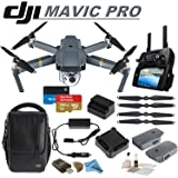 DJI Mavic Pro Collapsible Quadcopter: Includes DJI Shoulder Bag, 2 Intelligent Flight Batteries, Car Charger, Spare Propellers, SanDisk 64GB Extreme MicroSD Card and more...