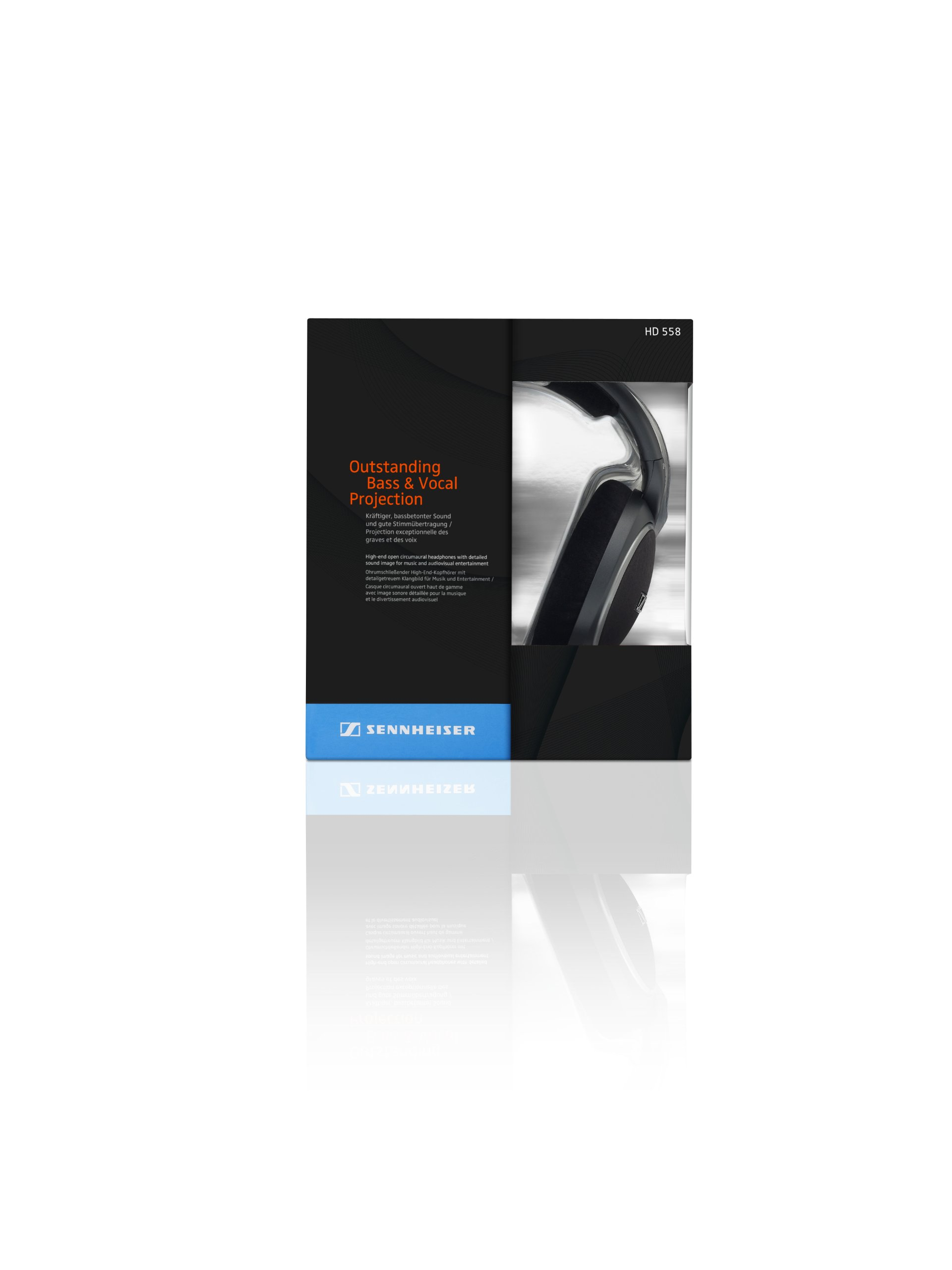 Sennheiser HD 558 Headphones by Sennheiser