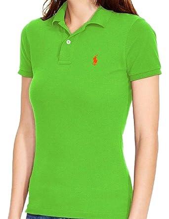 Ralph Lauren - Polo - Camisa polo - para mujer Lime/HellGrün X ...