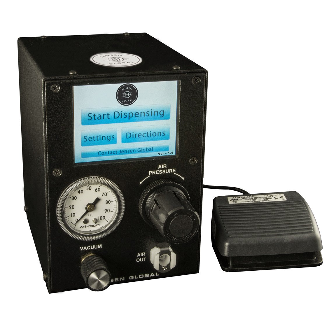 Jensen Global JGD500T 4.0 lb Digital Programmable Shot Meter