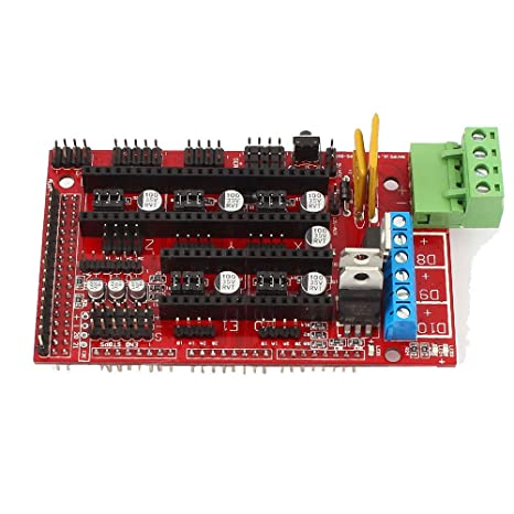 OSOYOO 3d impresora controlador rampas 1.4 Junta Módulo para ...