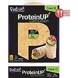 Flatout ProteinUP Flatbread, Low Carb Wraps, 5 Wraps (Core 12)