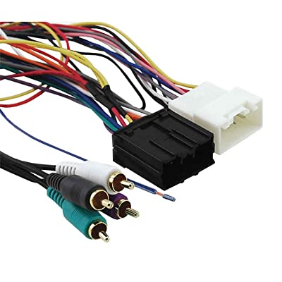Axxess MITO-01 Amplifier Interface Harness for Select 2006-2008 Mitsubishi Vehicles,BLACK: Car Electronics