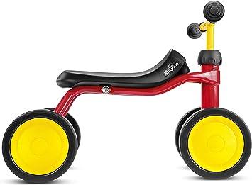 RUKY RUKYlino - Bicicleta de Montar para niño (4 Ruedas), Rojo ...