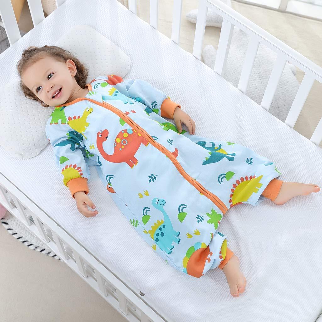 Baby Sleeping Bag 1.5 tog Toddler Sleeping Sack with Legs Zipper Front