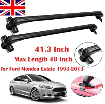 FORD S-MAX ALL YEARS DYNAMIC ANTI-THEFT LOCKABLE ROOF BARS