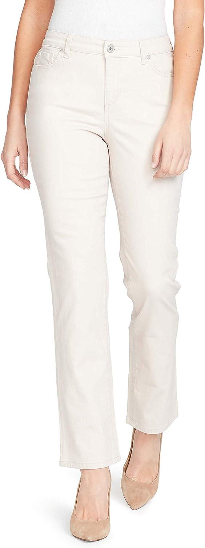 Bandolino Womens Petite Mandie Signature Fit 5 Pocket Jean