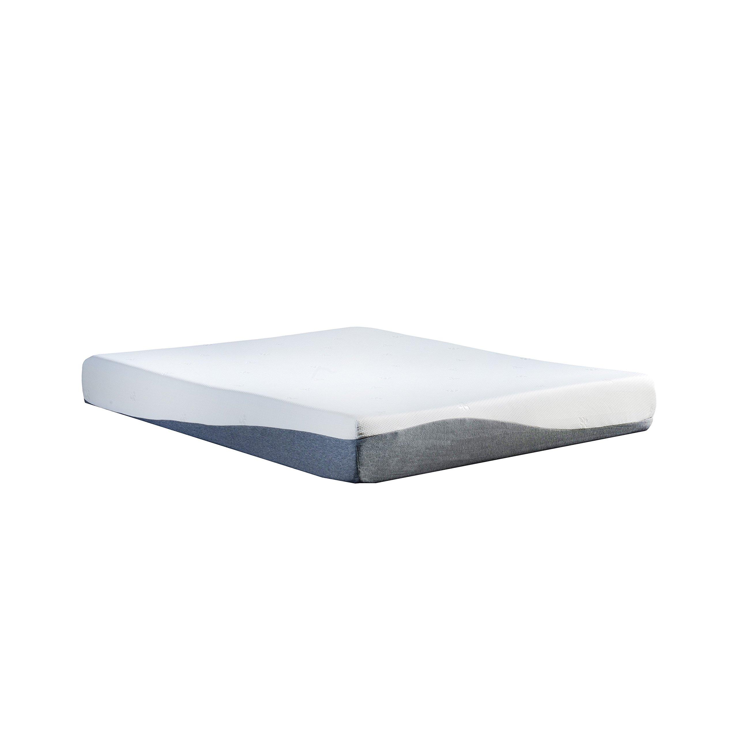 Swiss Ortho Sleep, 10'' High-Density, 3 x Layered GEL & MEMORY FOAM MATTRESS, w/ Bamboo Cover, All Sizes