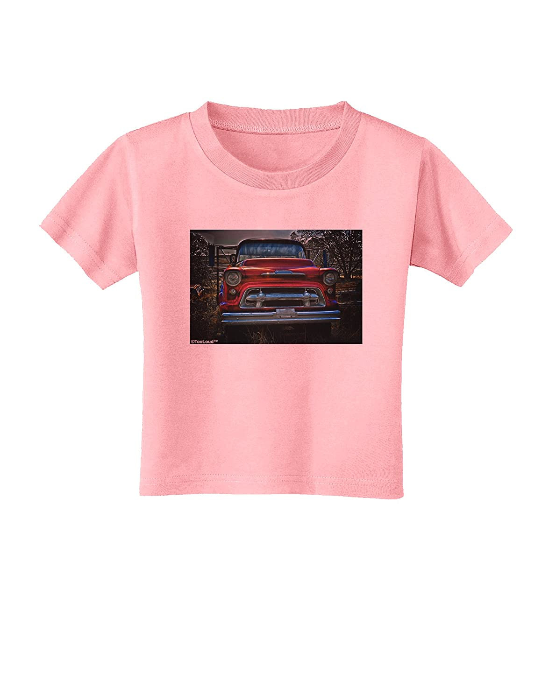 TooLoud Vintage Truck Toddler T-Shirt