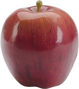 FloraCraft Decorative Artificial Fruit, Red Apple