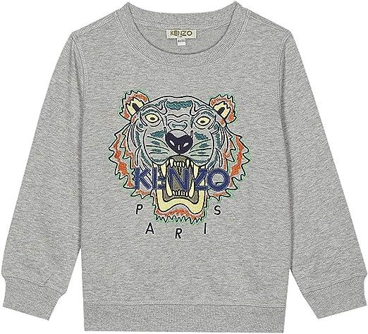 Kenzo Boys Back Graphic Hoodie Sweatshirt Top Size Age 8 Years