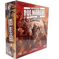 Asmodee UBIZC05 - Jeu de Stratégie - Zombicide - Saison 3 - Rue Morgue