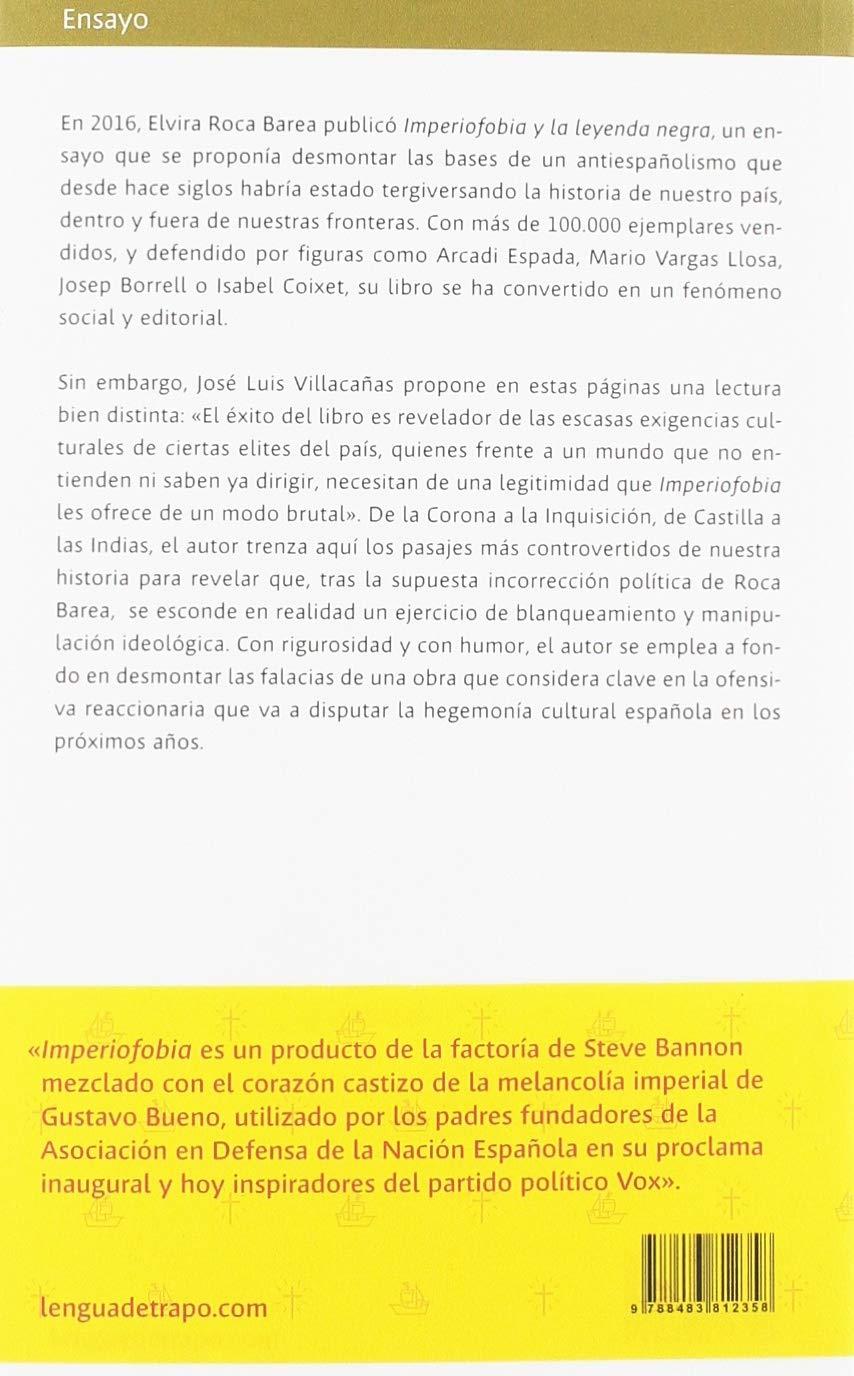 Imperiofilia y el populismo nacional-católico: Otra historia del imperio  español Ensayo: Amazon.es: Jose Luis Villacañas Berlanga: Libros