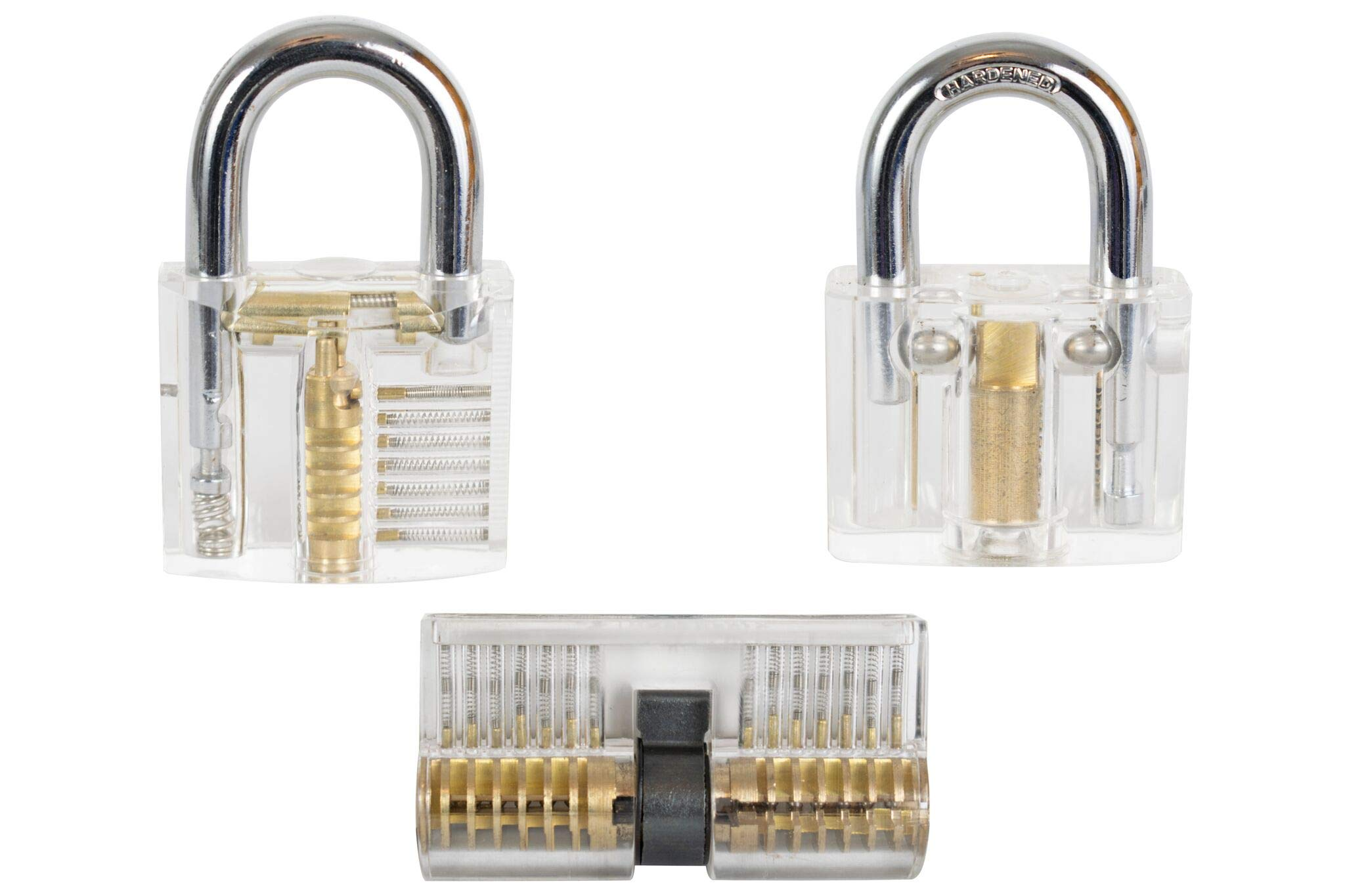 Title: Hoss Henly | 3 Clear Cutaway Locks | Instructional Content Included | Puzzle Enthusiasts and Curious Individuals by Hoss Henly (Image #2)