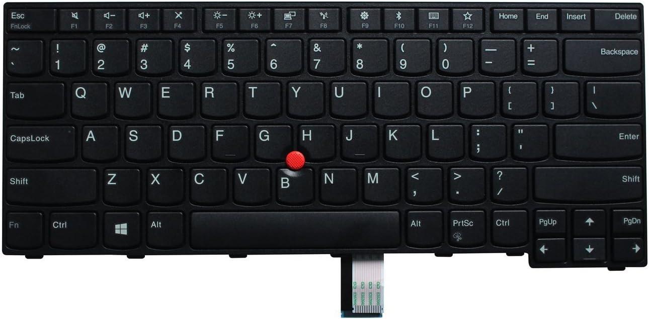 AUTENS Laptop Replacement Keyboard for Lenovo ThinkPad E470 E470c E475 Laptop No Backlight