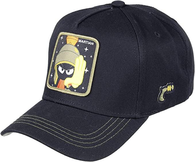 Capslab Gorras Looney Tunes Marvin The Martian Black/Olive ...