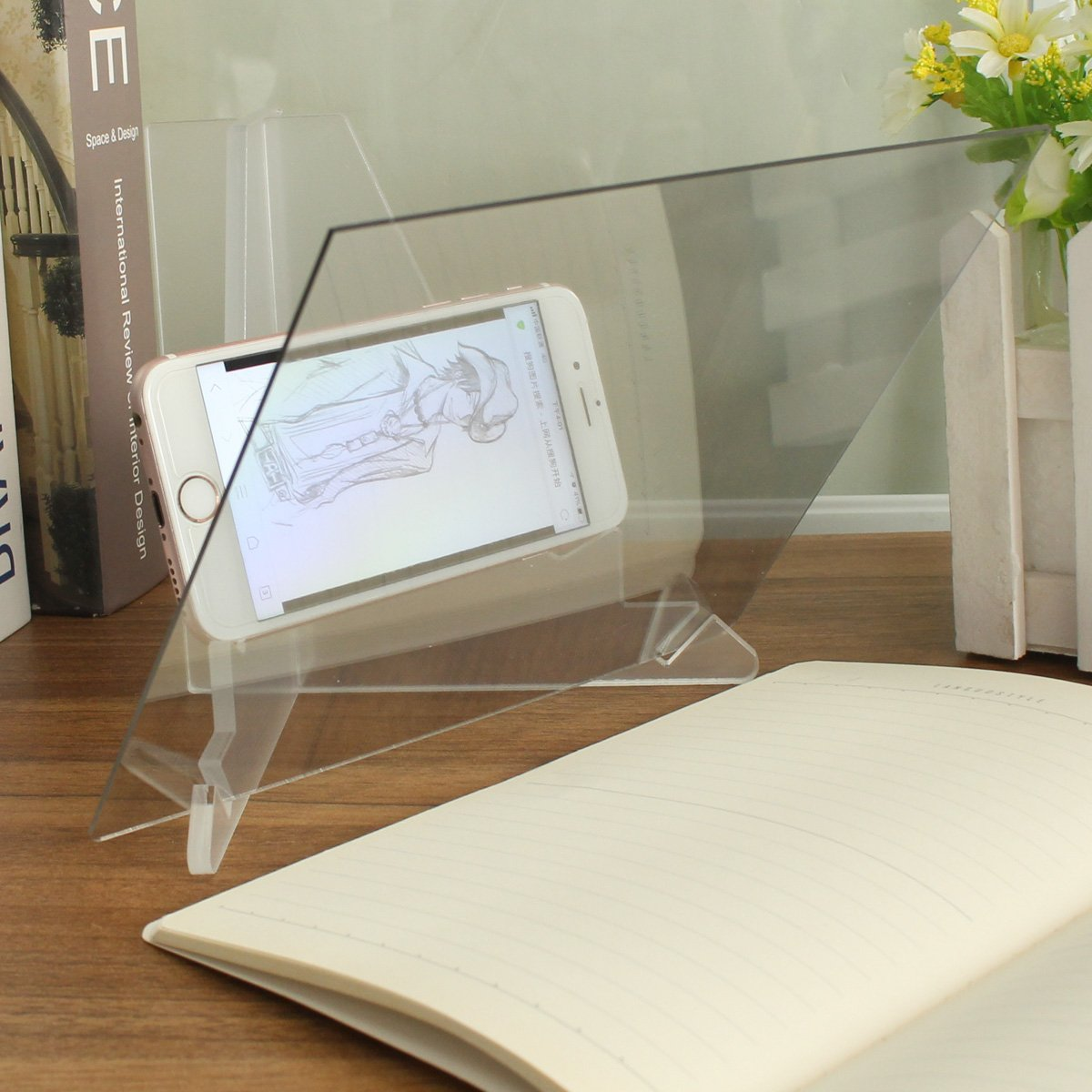 Vivona Hardware & Accessories Drawing Board Pad Table Sketch Drawing Linfen Board Reflection of Mirrors