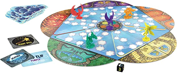 Peaceable Kingdom Sky Magic – Un Juego de Mesa cooperativo de Cambio Continuo: Amazon.es: Juguetes y juegos