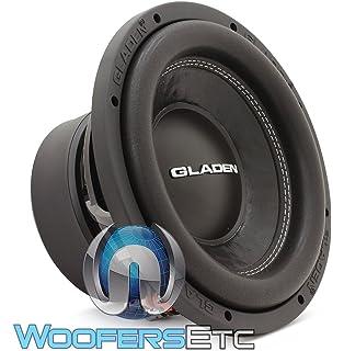 Gladen RS 10-VB 25cm Geh/äusesubwoofer bassreflex