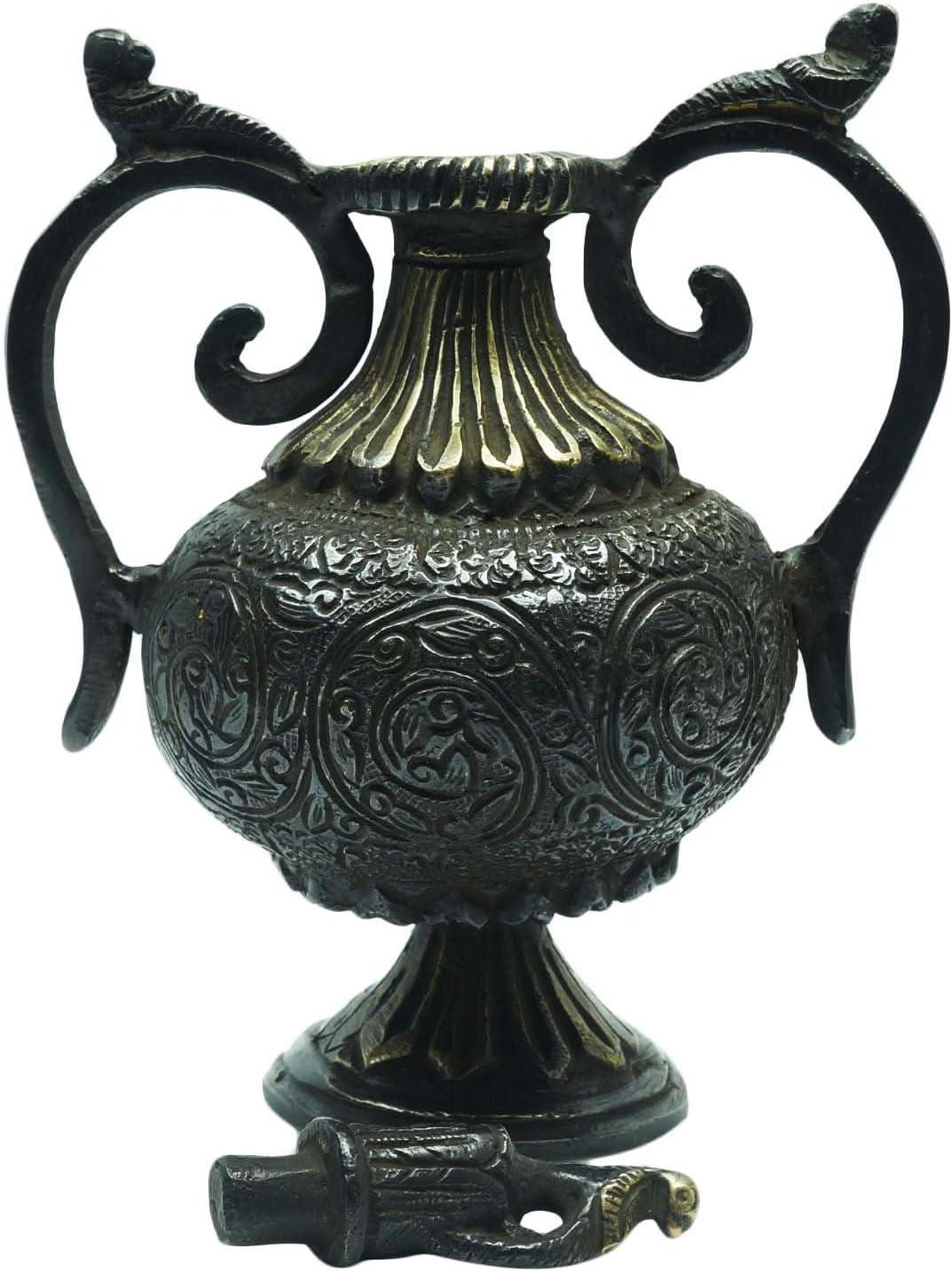 装飾アンティーク真鍮 Surahi コレクション可能 ハンドメイド テーブル像 ホームデコレーション
