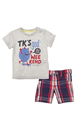OFFCORSS Matching Brother Siblings Shorts and T-Shirt Outfits for Baby Boys  Infant Newborn Set 844c0e4e8