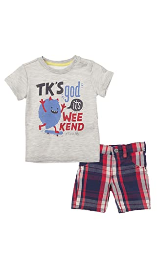 OFFCORSS Matching Brother Siblings Shorts and T-Shirt Outfits for Baby Boys Infant Newborn Set